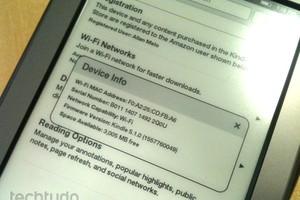 Kindle Touch atualizado (Foto: Allan Melo/TechTudo)