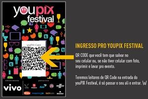 YouPix Card com QR Code vai substituir crachá em festival (Foto: Divulgação) (Foto: YouPix Card com QR Code vai substituir crachá em festival (Foto: Divulgação))
