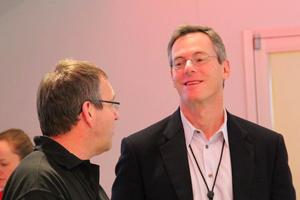 Paul Jacobs, presidente da Qualcomm (Foto: TechTudo/Fabricio Vitorino)