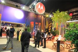 Estande da Motorola no MWC 2013 (Foto: Allan Melo/TechTudo)