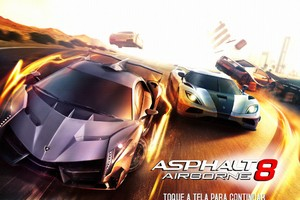 Asphalt 8: Airborne para Android e iOS (Foto: Reprodução / Dario Coutinho) (Foto: Asphalt 8: Airborne para Android e iOS (Foto: Reprodução / Dario Coutinho))