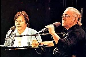 Parceria entre Tom e Vinicius é clássica (Foto: Reprodução/LastFM) (Foto: Parceria entre Tom e Vinicius é clássica (Foto: Reprodução/LastFM))
