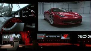 Forza 4 na conferência da Microsoft na E3 2011 (Foto: TechTudo)
