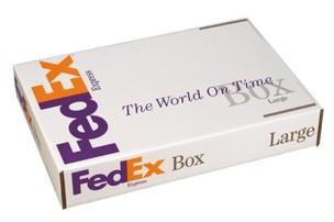 Caixa do FedEx (Foto: Reprodução)