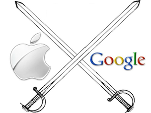 apple vs google (Foto: apple vs google)