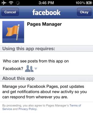 Esta é a cara do novo aplicativo de gerenciamento de páginas do Facebook (Foto: Reprodução) (Foto: Esta é a cara do novo aplicativo de gerenciamento de páginas do Facebook (Foto: Reprodução))