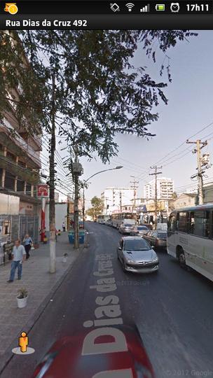Função Street View do aplicativo Google Mapas (Foto: TechTudo)