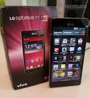 LG Optimus 4X HD já está à venda no Brasil antes mesmo do lançamento (Foto: TechTudo)