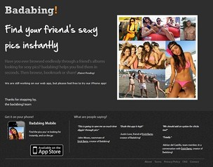 Badabing vem causando polêmica na web (Foto: Reprodução) (Foto: Badabing vem causando polêmica na web (Foto: Reprodução))
