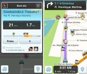 Aplicativo Waze traz novidades para Android e iOS em sua versão 3.5 (Foto: Reprodução) (Foto: Aplicativo Waze traz novidades para Android e iOS em sua versão 3.5 (Foto: Reprodução))