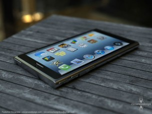 iPhone 6 já tem projeto conceitual feito por designer italiano (Foto: Reprodução Ciccares Design) (Foto: iPhone 6 já tem projeto conceitual feito por designer italiano (Foto: Reprodução Ciccares Design))