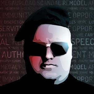 Kim Dotcom, o fundador do Megaupload (Reprodução|Twitter) (Foto: Kim Dotcom, o fundador do Megaupload (Reprodução|Twitter))