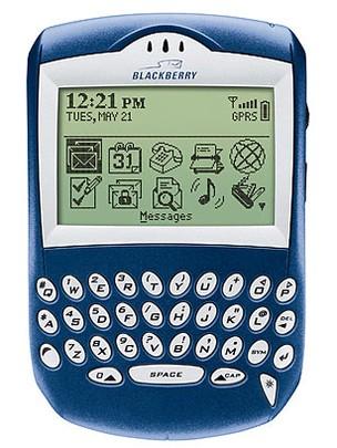 Blackberry 6210 um dos primeiros smartphones que não pareciam um trambolho (Foto: Divulgação) (Foto: Blackberry 6210 um dos primeiros smartphones que não pareciam um trambolho (Foto: Divulgação))