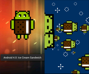 Easter egg presente no Android 4.0 (Foto: Repodução/Gizmodo) (Foto: Easter egg presente no Android 4.0 (Foto: Repodução/Gizmodo))