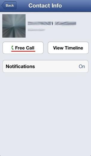 """Nova opção """"Free Call"""" nos aplicativos Facebook e Messenger (Reprodução) (Foto: Nova opção """"Free Call"""" nos aplicativos Facebook e Messenger (Reprodução))"""