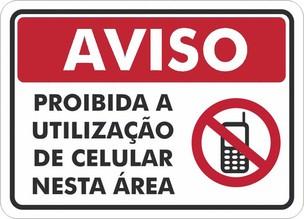 proibido celular (Foto: proibido celular)