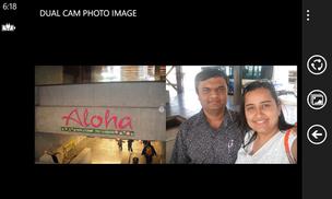 Dual Cam Photo, para Windows Phone, funciona de maneira bem simples (Foto: Divulgação)