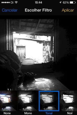 Aplique filtros dentro do próprio app Câmera (Foto: Reprodução/Edivaldo Brito)  (Foto: Aplique filtros dentro do próprio app Câmera (Foto: Reprodução/Edivaldo Brito) )