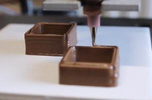 Impressão 3D chocolate (Foto: Reprodução/print)