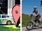Carro e triciclo utilizados para capturar as imagens do Street View (Foto: Reprodução/Google)