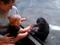 Filhote de chimpanzé interage com bebê através de vidro de zoológico (Foto: Reprodução) (Foto: Filhote de chimpanzé interage com bebê através de vidro de zoológico (Foto: Reprodução))