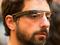 Sergey Brin, co-fundador do Google, usando um protótipo do Project Glass (Foto: Reprodução/Jasedi)