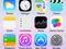 Novos ícones do iOS 7 (Foto: Reprodução/Edivaldo Brito) (Foto: Novos ícones do iOS 7 (Foto: Reprodução/Edivaldo Brito))