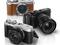 A XM-1 possui um visual retrô em três diferentes modelos de cores (Foto: Divulgação/ Fijifilm) (Foto: A XM-1 possui um visual retrô em três diferentes modelos de cores (Foto: Divulgação/ Fijifilm))
