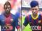 Comparação mostra Neymar em Fifa 13 e Fifa 14 (Foto: Reprodução)