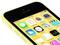 iPhone 5C na versão amarela (Foto: Divulgação)