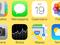 Ícones de Câmera e Fotos estão diferentes no iOS 7, novo sistema da Apple (Foto: Reprodução/Thiago Barros)