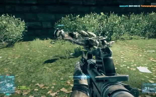 Vídeos mostram falhas bizarras no Battlefield 3 (Foto: Divulgação)
