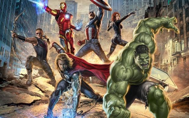 Os Vingadores (Foto: Reprodução)