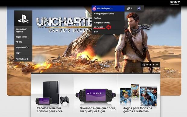 Site oficial da PlayStation Network  (Foto: Reprodução)