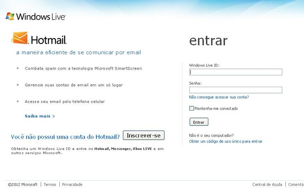 hotmail com no: