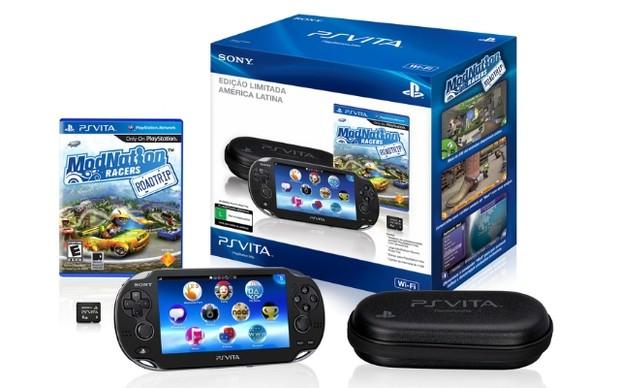 Pacote brasileiro do PlayStation Vita (Foto: Divulgação) (Foto: Pacote brasileiro do PlayStation Vita (Foto: Divulgação))