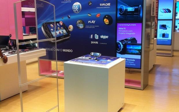 Nossa equipe esteve presente na coletiva oficial da Sony (Foto: Nossa equipe esteve presente na coletiva oficial da Sony)