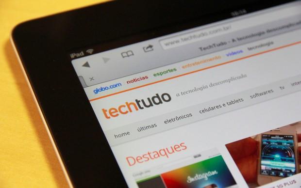 Novo iPad 3 (Foto: Allan Melo/TechTudo)
