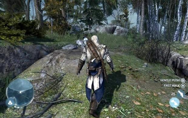 Fotos vazadas da PAX East 2012 mostram Assassin's Creed 3 em ação (Foto: Gematsu) (Foto: Fotos vazadas da PAX East 2012 mostram Assassin's Creed 3 em ação (Foto: Gematsu))