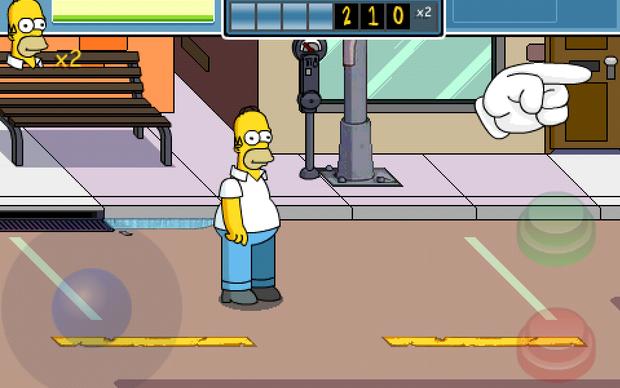 The Simpsons Arcade (Foto: Reprodução)