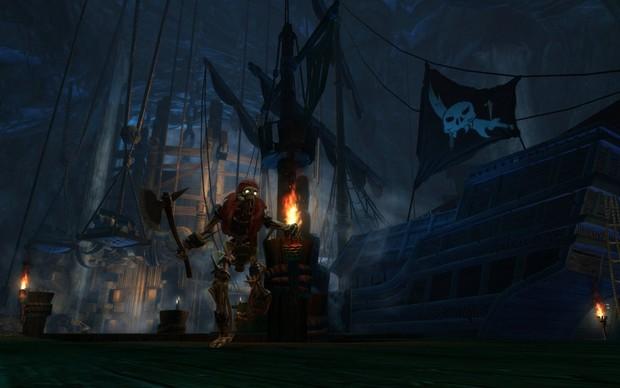 The Legend of Dead Kel traz os mistérios de um pirata amaldiçoado ao jogo (Foto: The Legend of Dead Kel traz os mistérios de um pirata amaldiçoado ao jogo)