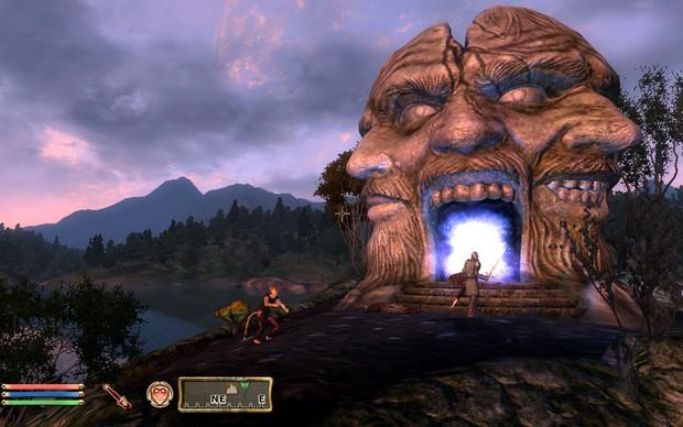 """""""Shivering Isles"""", para Oblivion, adiciona um novo mapa ao game original (Foto: """"Shivering Isles"""", para Oblivion, adiciona um novo mapa ao game original)"""