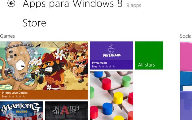 Windows Store, loja de aplicativos do Windows 8 (Foto: Reprodução/TechTudo)