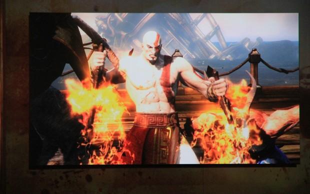 God of War: Ascension (Foto: Léo Torres / TechTudo)