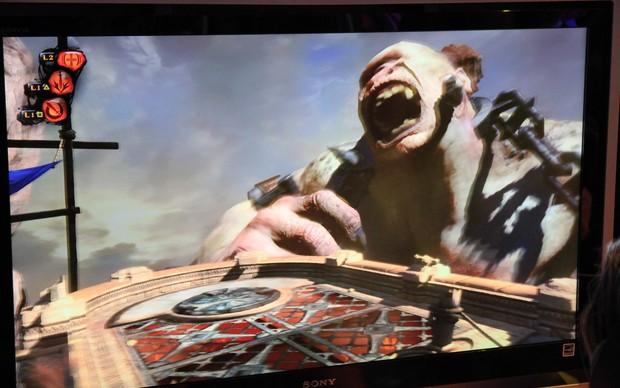 God of War Ascension (Foto: Léo Torres / TechTudo)