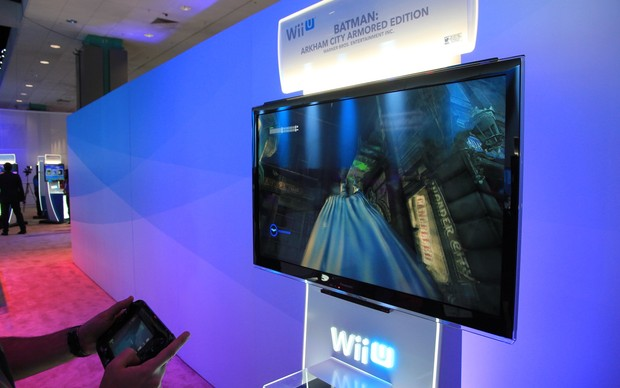 Batman Arkhan City Armored Core no Nintendo Wii U (Foto: Léo Torres / TechTudo)