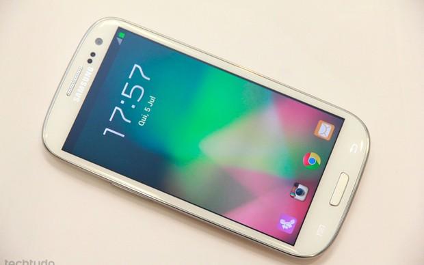Samsun Galaxy S III (Foto: TechTudo/Allan Melo)