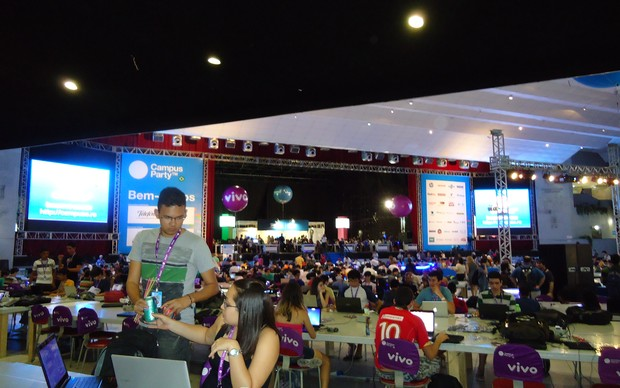 Campus Party Recife (Foto: Bernardo Cury)