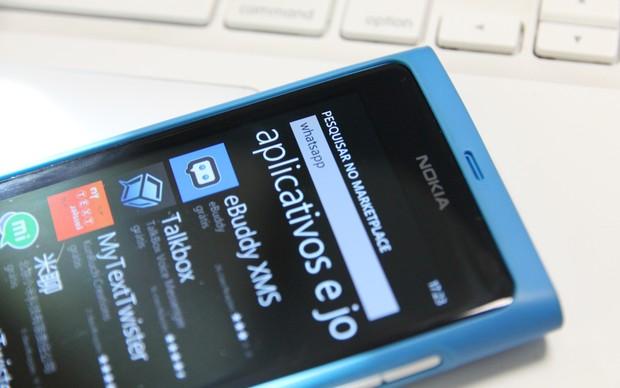 Não é mais possível encontrar o Whatsapp no Marketplace (Foto: TechTudo/Marlon Câmara)