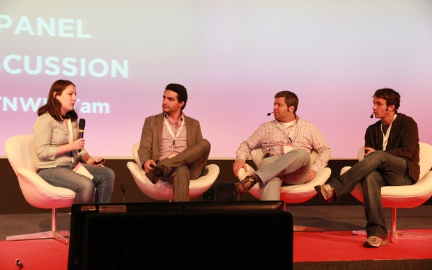 Hoje investidores, empreendedores brasileiros deram dicas para empresas estrangeiras (Foto: Allan Melo/TechTudo)